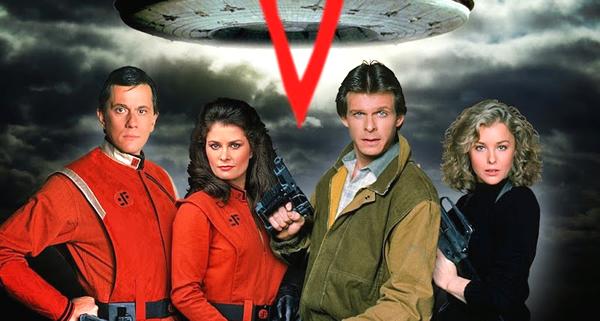 series retro v invasión extraterrestre