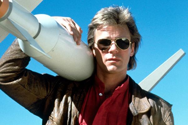macgyver en la serie original de los 80