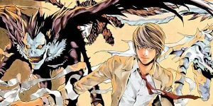 dibujos del manga original de death note