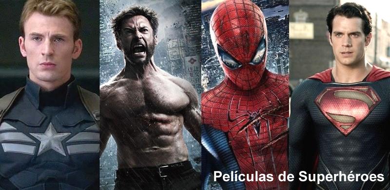 listado de películas de superhéroes
