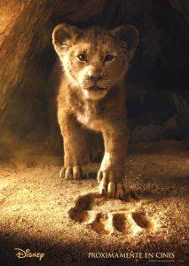 poster original de el rey leon pelicula 2019