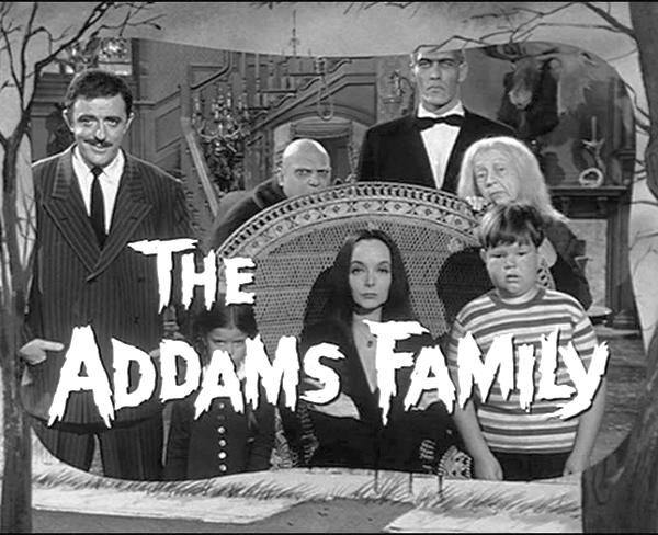 la familia addams serie original de 1964, los locos addams original