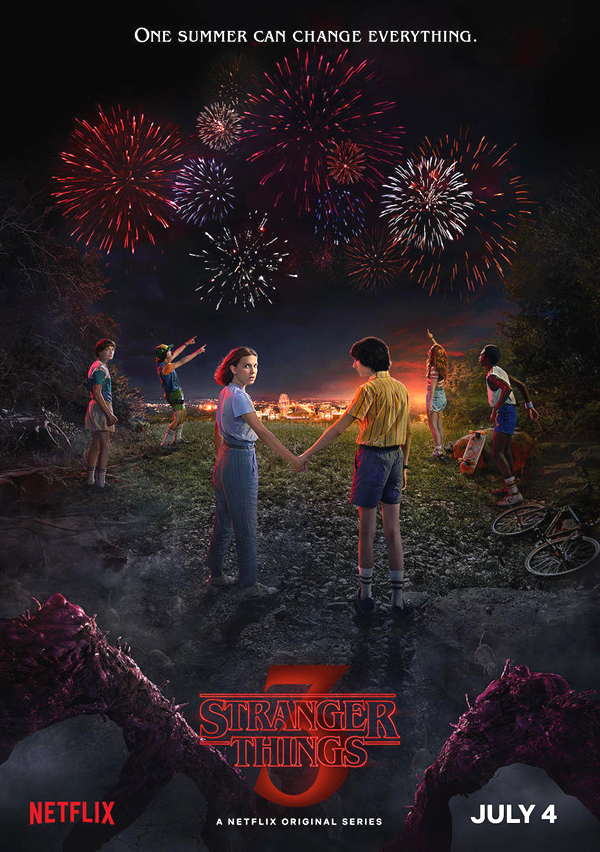 poster oficial de stranger things temporada 3 2019