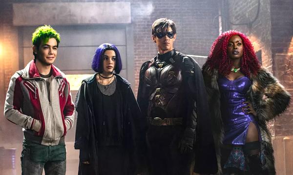 estreno y episodios de la serie titans 2018 en netflix, dc universe