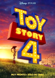 toy story 4 poster oficial de la película