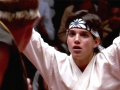 ralph macchio y william zabka en karate kid