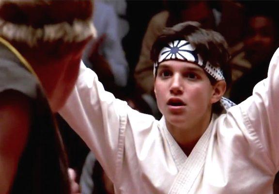 ralph macchio y william zabka en karate kid