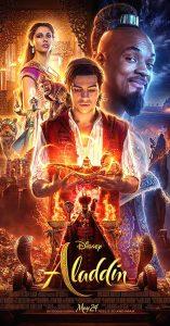 aladdin película 2019 poster oficial con will smith