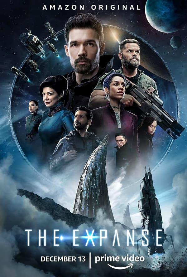 poster oficial de la temporada 4 de la serie de amazon prime the expanse