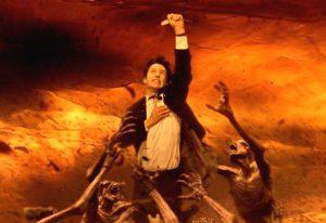 John Constantine la película de 2005 protagonizada por keanu reeves y tilda swinton, hellblaizer comic