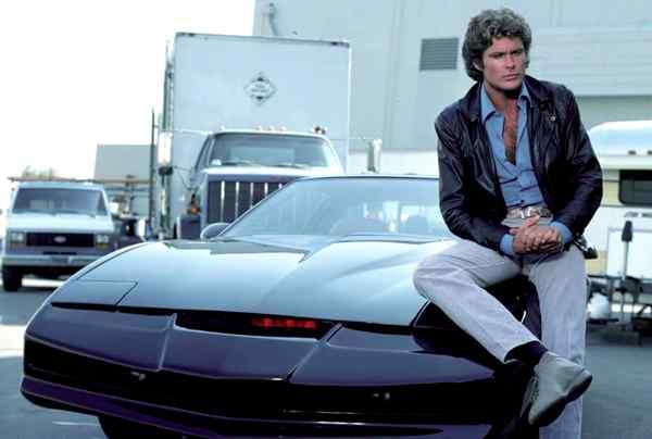 el coche fantástico, serie retro, el auto fantástico, david hasselhoff, españa, latino