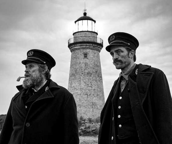 el faro, película de terror con willem dafoe y robert pattinson, estreno 2019 en usa, 2020 en españa