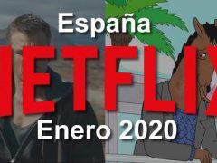 Series y Películas estrenos en Netflix en Enero 2020 en España