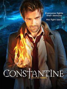 póster de la serie constantine serie de tv con matt ryan,