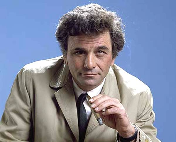 teniente colombo serie, detective columbo, peter falk