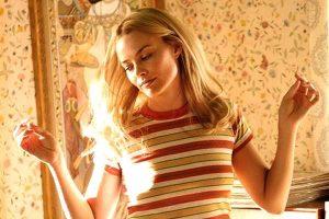 foto de la actriz australiana Margot Robbie en una serie o película