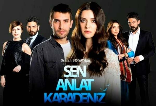 Sen Anlat Karadeniz, mar negro, fugitiva, novela turca para ver