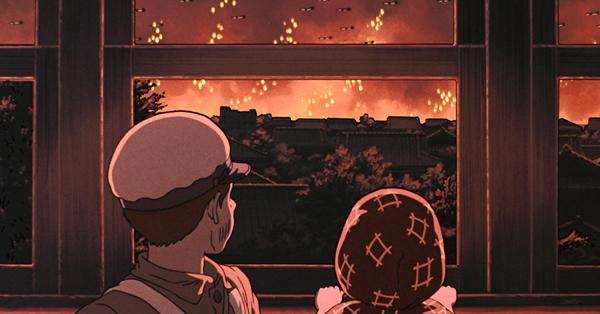 La tumba de las luciérnagas (Isao Takahata, 1988), pelicula de guerra para ver