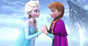 fotos de elsa y anna en la película frozen, como ver en orden las películas de la saga