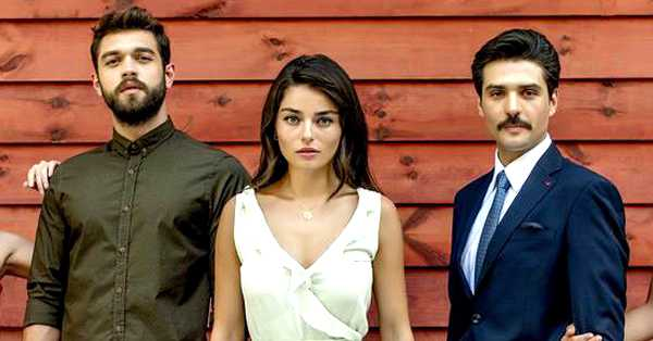 foto de la actriz y actores de la novela turca meryem o cuento de inocencia