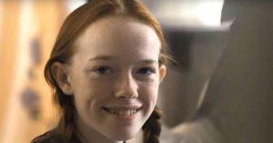 Amybeth McNulty como Anne Shirley-Cuthbert en la serie de netflix anne with an e