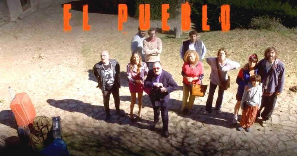 foto del reparto de actores y actrices de la serie el pueblo para ver