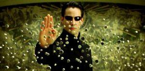como ver peliculas matrix orden cronologico, keanu reeves en matrix